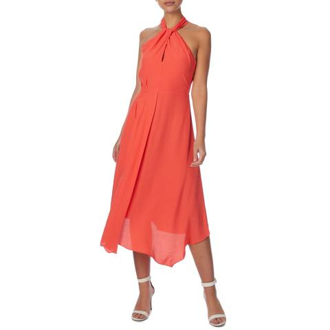 Reiss Coral Yasmine Midi Dress