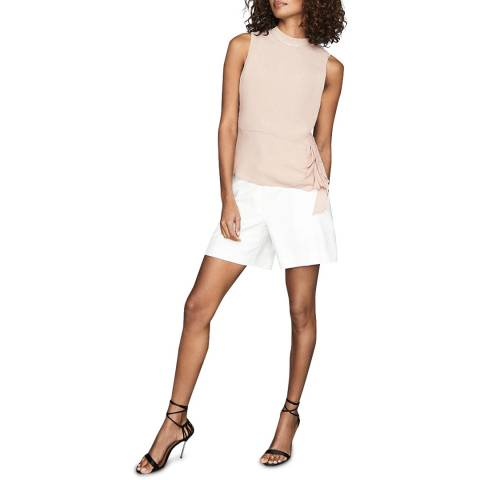 Reiss Nude Madeira Diamante Top