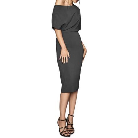 Reiss Slate Madison Bodycon Dress