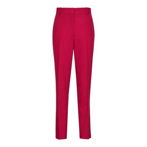 Reiss Magenta Livvi Tailored Trousers