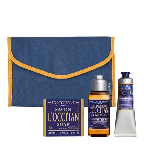 L'Occitane Men's Travel Collection Worth £23