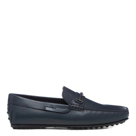 Tod's Blue Fine City Loafers