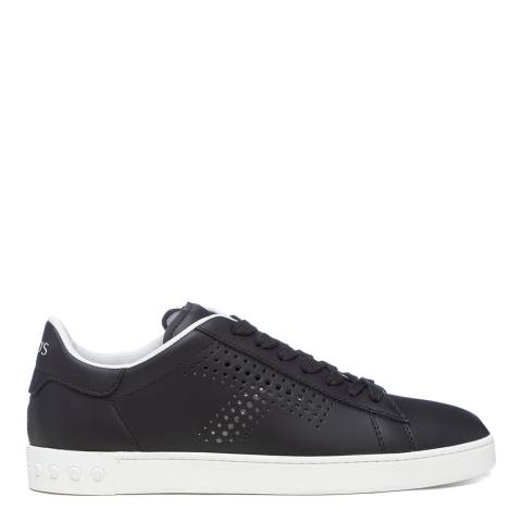 Tod's Black Leggera Leather Sneakers