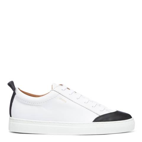 Joseph White/Black The Becker Sneaker