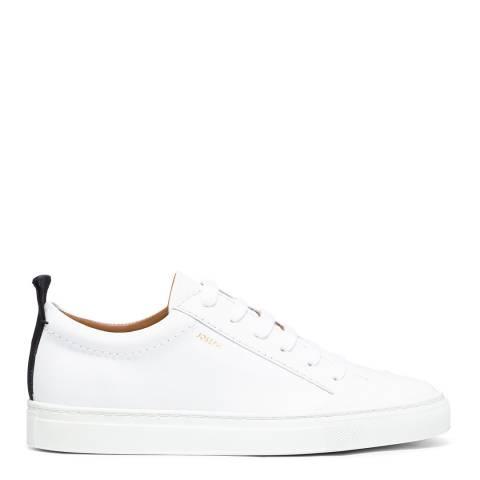 Joseph White Leather The Becker Sneaker