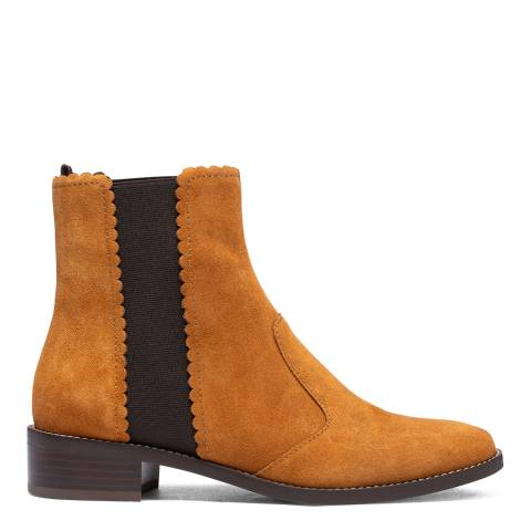 See by Chloe Tan Suede Chelsea Ankle Boot