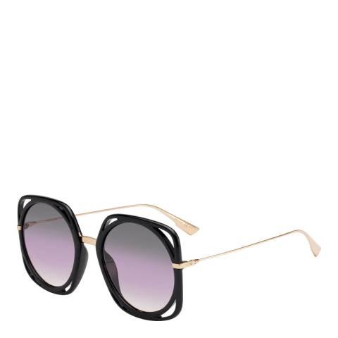 Dior Women's Gold Dior Sunglasses 56mm