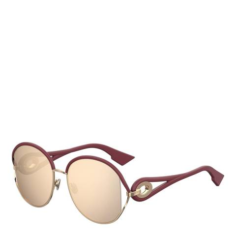 Dior Women's Gold Dior Sunglasses 57mm