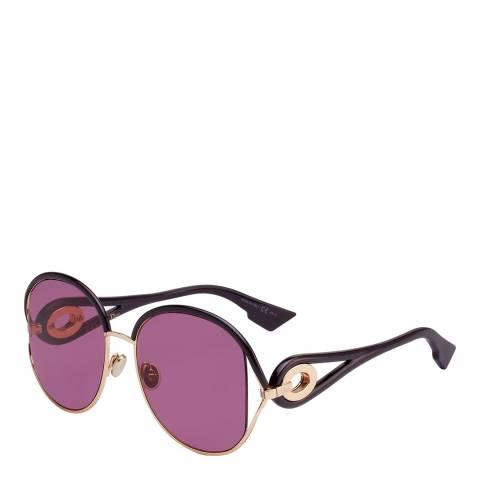 Dior Women's Pink/Gold Dior Sunglasses 57mm