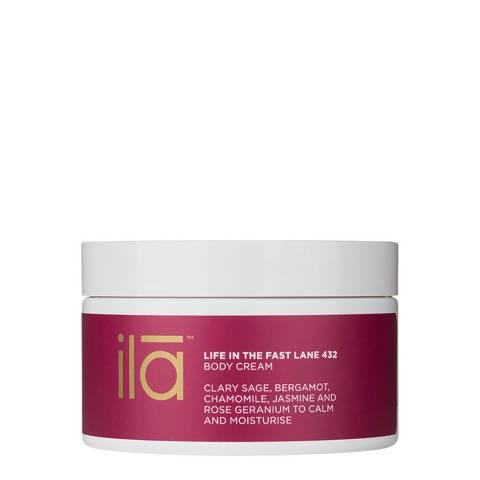 ila spa Life in the Fast Lane 432 Body Cream