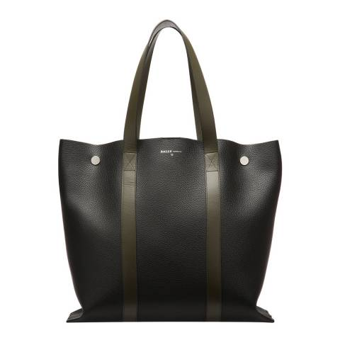 BALLY Black Double Tote