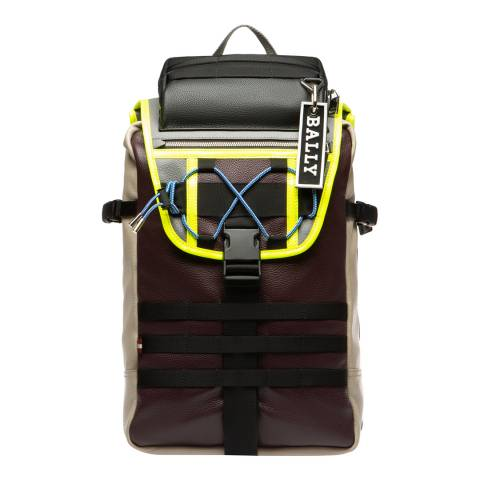 BALLY Multi Prune Large Backpack