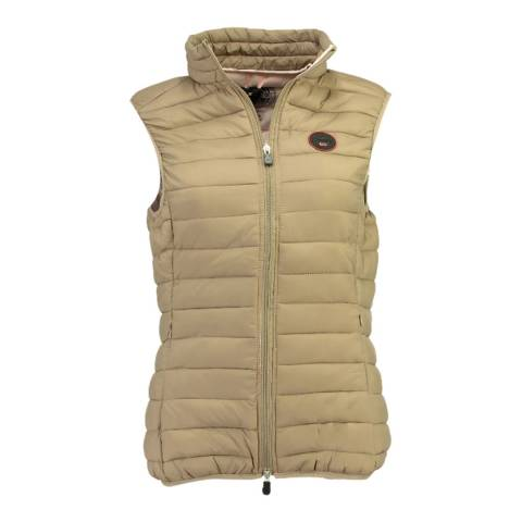 Geographical Norway Taupe Vafne Basic Gilet