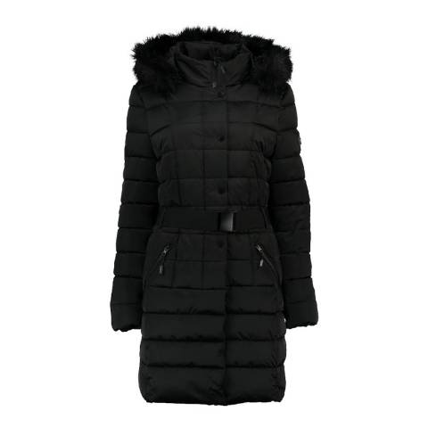 Geographical Norway Black Anemone Parka