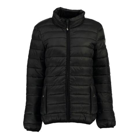 Geographical Norway Black Areca Basic Jacket