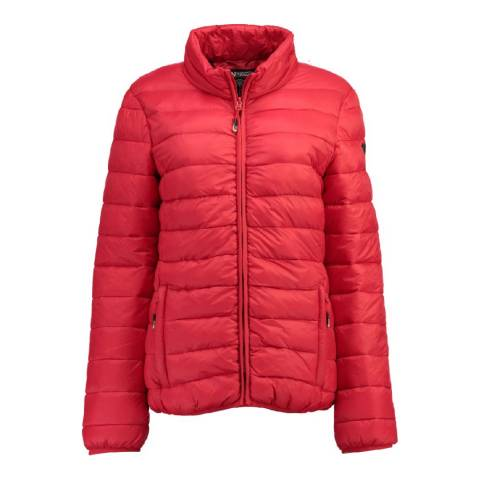 Geographical Norway Red Areca Basic Jacket