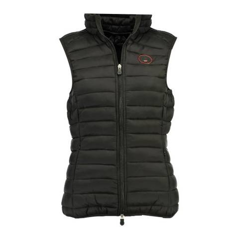 Geographical Norway Black Vafne Basic Gilet