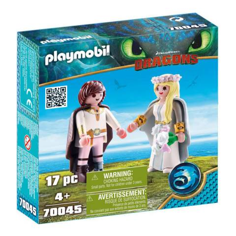 Playmobil Astrid and Hiccup