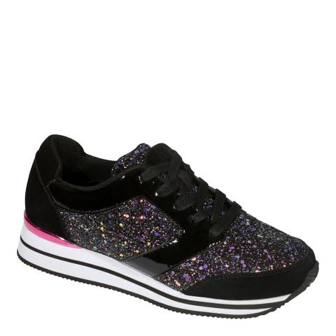 Scholl Black Charlize Two Sneakers