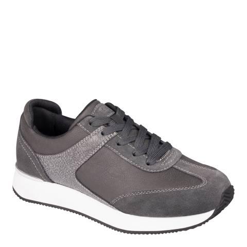 Scholl Dark Grey Charlize Sneakers