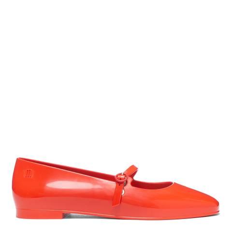 Melissa Red Believe Ballet Flats