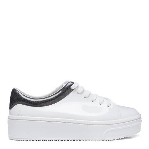 Melissa White/Black Mellow Sneakers