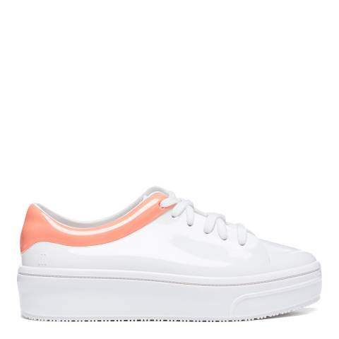 Melissa White/Pink Mellow Sneakers