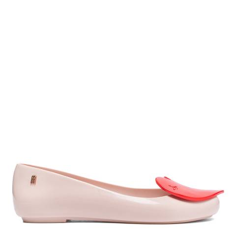 Vivienne Westwood for Melissa Pink VW Space Love 23 Red Heart Pumps