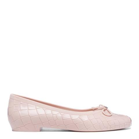 Vivienne Westwood for Melissa Blush VW Margot Ballerina Ballet Pumps