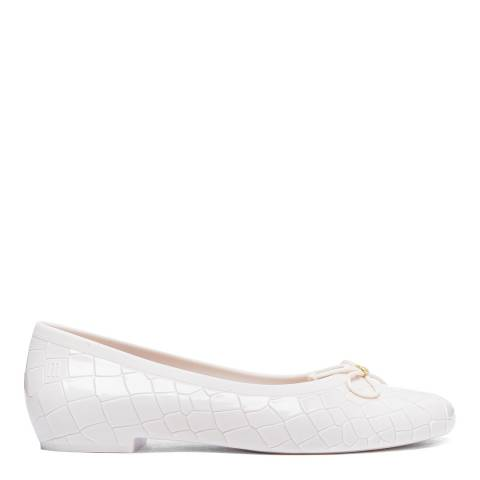 Vivienne Westwood for Melissa Cream VW Margot Ballerina Ballet Pumps