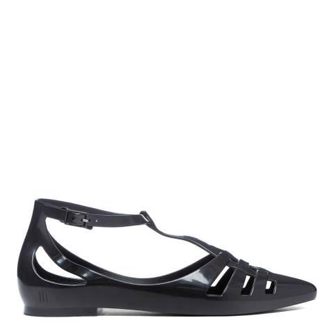 Melissa Black Spider Flat Shoes