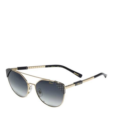 Chopard Women's Gold/Blue Chopard Sunglasses 57mm