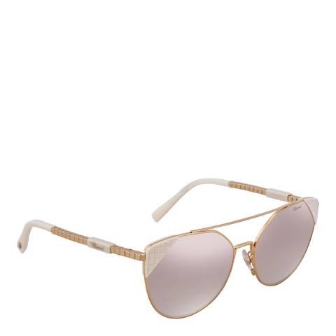 Chopard Women's Gold/Purple Chopard Sunglasses 57mm
