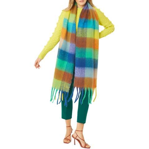 JayLey Collection Multi Stripe Cashmere Blend Scarf