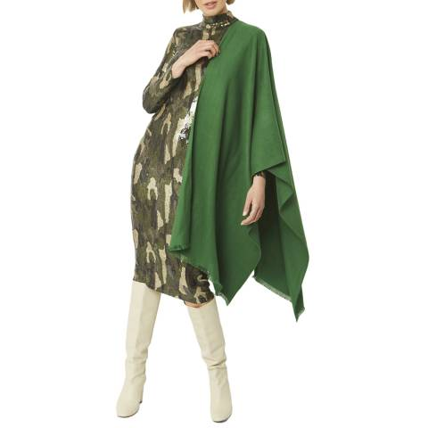 JayLey Collection Green Cashmere Wrap