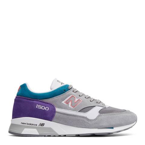 New Balance Grey/Purple City Sunrise 1500 Sneaker