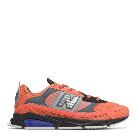 New Balance Orange Multi X-Racer Sneaker