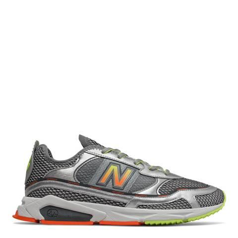 New Balance Silver Multi X-Racer Sneaker