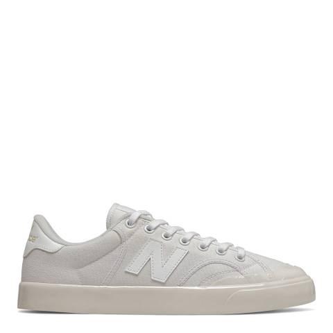 New Balance White PRO Court Sneaker