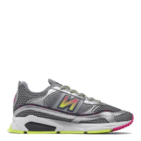 New Balance Silver Metallic X-Racer Sneaker