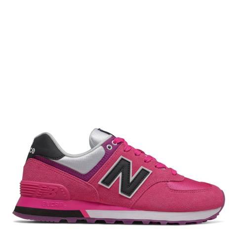 New Balance Exuberant Pink 574 Sneaker