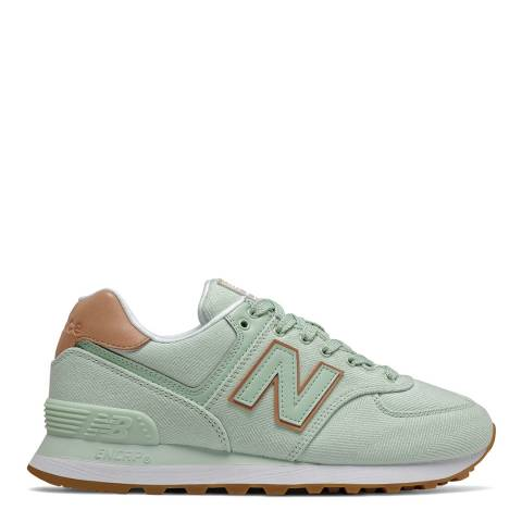 New Balance Green 574 Coastal Pack Sneaker