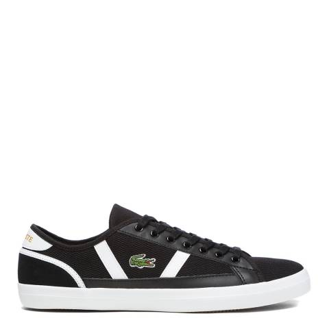 Lacoste Black & White Sideline 220 1 Trainers