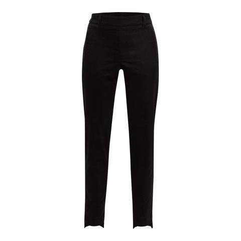 GOLFINO Black Euphorbia Soft Cord Trousers