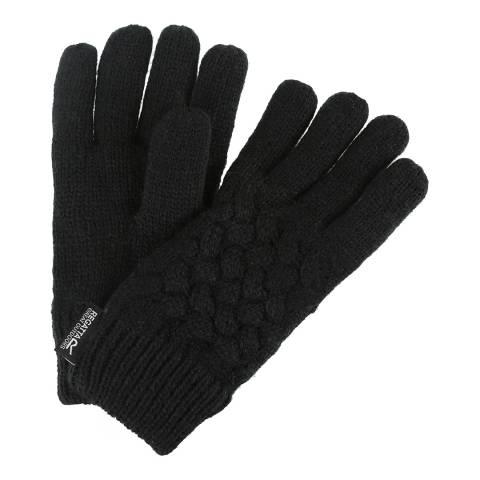 Regatta Kid's Black Merle Gloves