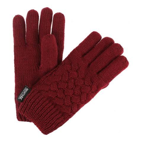 Regatta Kid's Red Merle Gloves