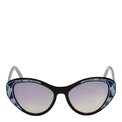 Prada Women's Navy/Multi Prada Sunglasses 55mm