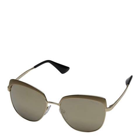 Prada Women's Grey Prada Sunglasses 56mm