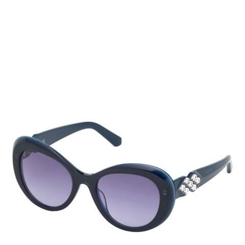 SWAROVSKI Women's Navy Swarovski Sunglasses 54mm
