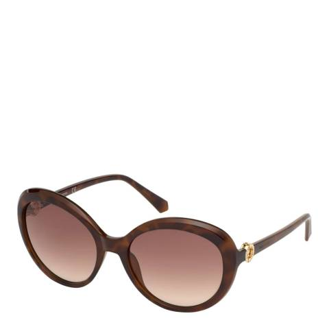 SWAROVSKI Women's Brown Swarovski Sunglasses 58mm